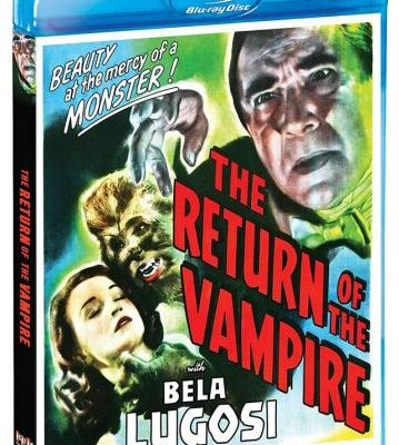 'The Return of the Vampire' Blu-ray Release Date and Finalized Extras