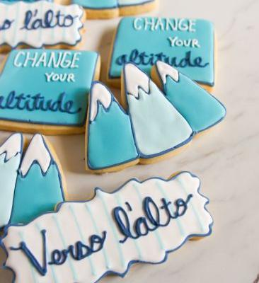 Change Your Altitude Mountain Cookies Inspired by Pier Giorgio Frassati