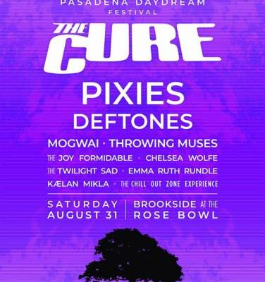 The Cure announce US festival, featuring Pixies, Deftones, and more