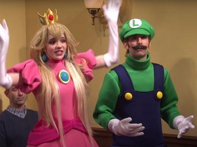 Watch Grimes Play Princess Peach Alongside Elon Musk's Wario On SNL