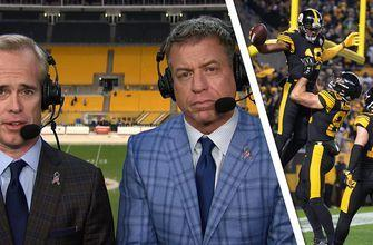 Joe Buck, Troy Aikman: Don't forget about the red-hot Pittsburgh Steelers