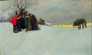 Howard Pyle, A Wolf Had Not Been Seen at Salem for Thirty Years
