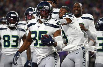 Seahawks defense shines, returning an interception 88 yards to the house