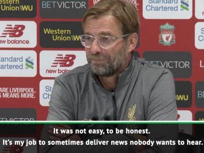 Klopp explains Shaqiri substitution decision