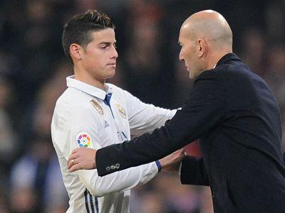 James: Zidane's rotation does not affect Real Madrid