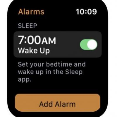 Unannounced Sleep App For Apple Watch Has Been Discovered