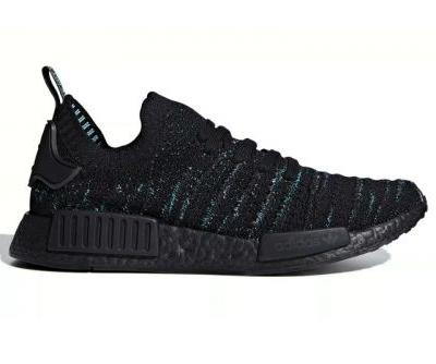 """Parley and adidas Return With NMD R1 """"Core Black/Blue Spirit"""""""