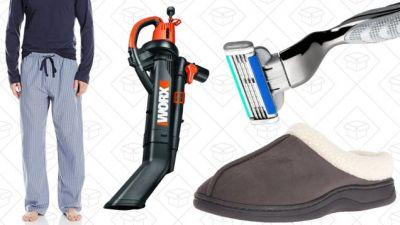 Today's Best Deals: Cyber Monday Leftovers, Pajamas, Razors, and More