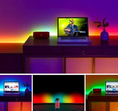 Transform any room with an app-enabled LED light strip for $20 or less