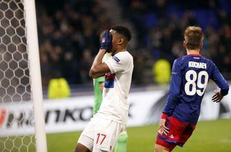 Lyon risks season ban by UEFA for fan racism, disorder