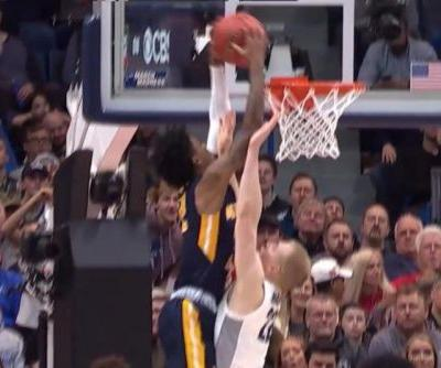 Watch: Murray State's Ja Morant posterizes Marquette defender
