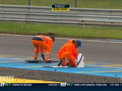Loose Drain Cover Pauses The 24 Hours Of Le Mans To Put The Track Back Together