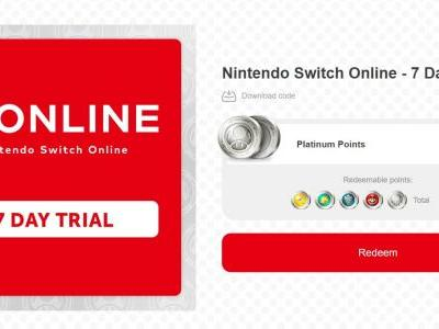 My Nintendo is offering a seven-day free trial for Switch Online through January 31