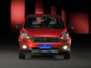 Ford Ka Urban Warrior Crossover Sedan Is Weirdly Attractive