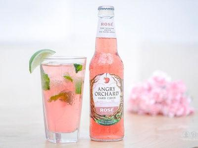 A Delicacy: The Rosé Cider Cooler