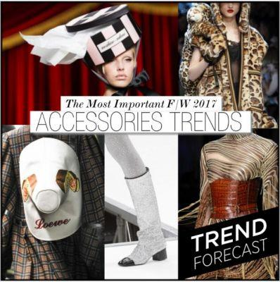 Most Important F/W 2017 Accessories Trends