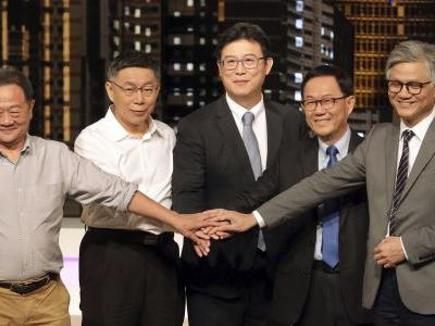 Taipei mayor candidates face off in televised debate