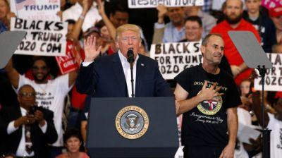 'Without MSM fake news filter': Trump briefs Florida rally on US security, NATO & Syria safe zones
