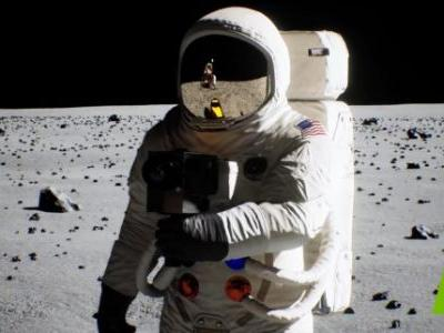 Nvidia reproduces the moon landing with real-time ray tracing