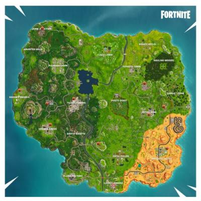 Fortnite Challenge Guide Season 5: Where Basketball Hoops Are Located