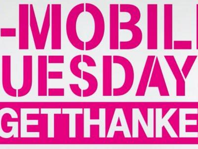 T-Mobile Tuesday gifts will include Dunkin' Donuts card and Eddie Bauer discount next week