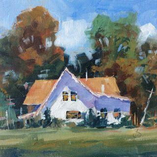 RURAL COTTAGE by TOM BROWN