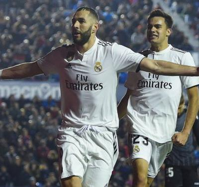 Levante 1 Real Madrid 2: Benzema and Bale make most of VARchee
