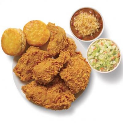 Popeyes' 2 Can Dine Valentine's Day Deal For $10 Is A Tasty Date Night Option
