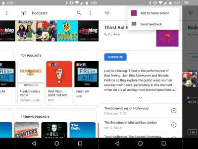 Did you know that Google Search on Android is a podcast player?
