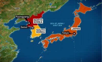 North Korea launches another ballistic missile that may have landed in Japanese waters