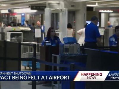 Union: Pittsburgh TSA employees may struggle to man security during government shutdown