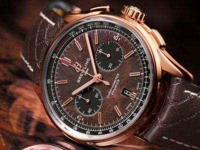 Partners in time: Breitling celebrates Bentley's centenary with the exclusive Premier Bentley