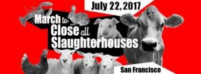 Excited for a March to Close All Slaughterhouses to take place