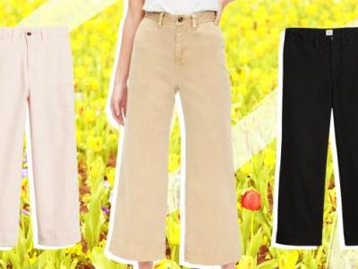 5 Unexpected Spring Looks That Start With a Pair of Wide-Leg Chinos and Look Cool as Hell