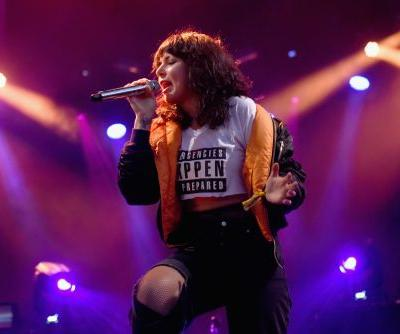 """Watch Sleigh Bells Play """"Bitter Rivals"""" With Tom Morello At Mom+Pop Anniversary Show"""