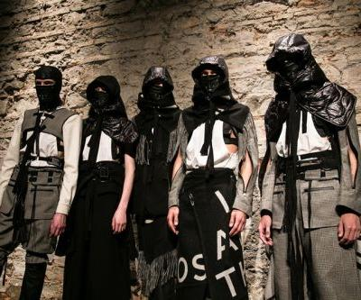 TAKAHIROMIYASHITATheSoloist. Fall/Winter 2018 Meshes Leather With Suiting