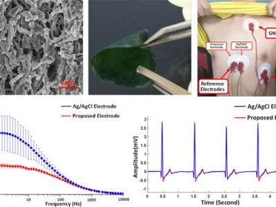 A Novel Antibacterial Membrane Electrode Based on Bacterial Cellulose/Polaniline/AgNO3 Composite for Bio-Potential Signal Monitoring