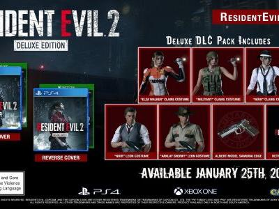 Resident Evil 2 Deluxe Edition includes retro soundtrack and fan service skins