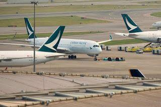 Cathay Pacific Passenger Numbers Plunge Amid Hong Kong Protest Turbulence