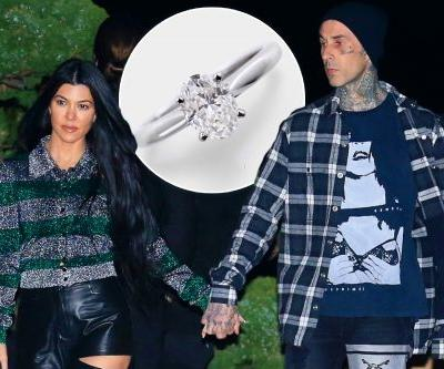 What Kourtney Kardashian's future engagement ring from Travis Barker might look like