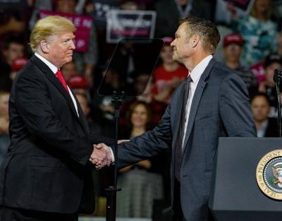 Kris Kobach, who favors anti-immigrant and anti-voter policies, wants a seat in the US Senate
