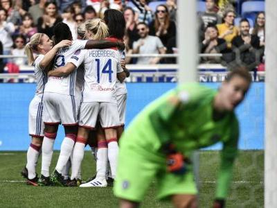 Lyon beat Chelsea, but Women's Champions League semifinal tie wide open
