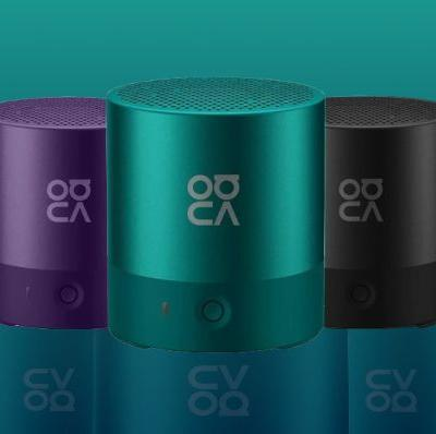 Nova Bluetooth Speaker cost just $19 and arrives four bright colors