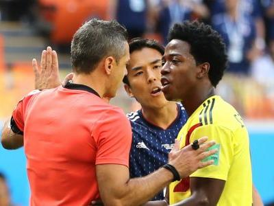 World Cup 2018: Colombia's Carlos Sanchez sees second-quickest red card in tournament history