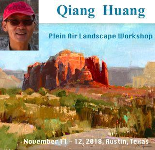 New workshop Announcement: Plein Air in Ausitn