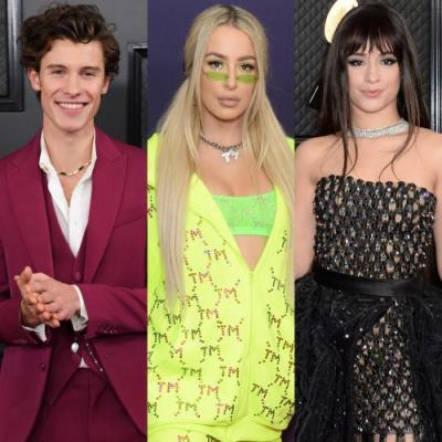 Tana Mongeau Parties the Night Away With Shawn Mendes and Camila Cabello Following the Grammy Awards