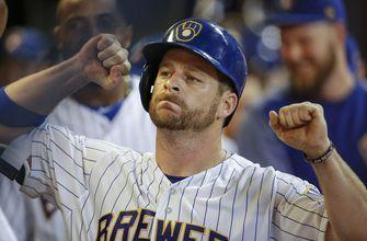 Brewers reinstate Vogt from disabled list