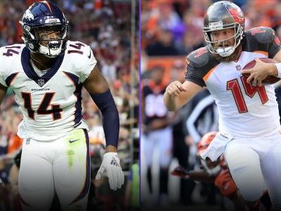 Week 9 Fantasy Sleepers: Courtland Sutton, Ryan Fitzpatrick go from waiver wire pickups to possible starters