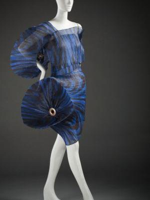 "Dress from the ""Flower Pleats"" SeriesIssey MiyakeSpring/Summer"