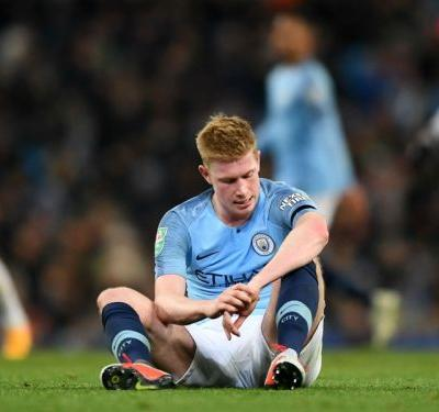 De Bruyne set for tests after sustaining fresh knee injury